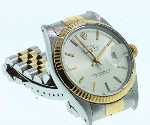 11: Men's 18KT Rolex Two-Tone DateJust Watch W24