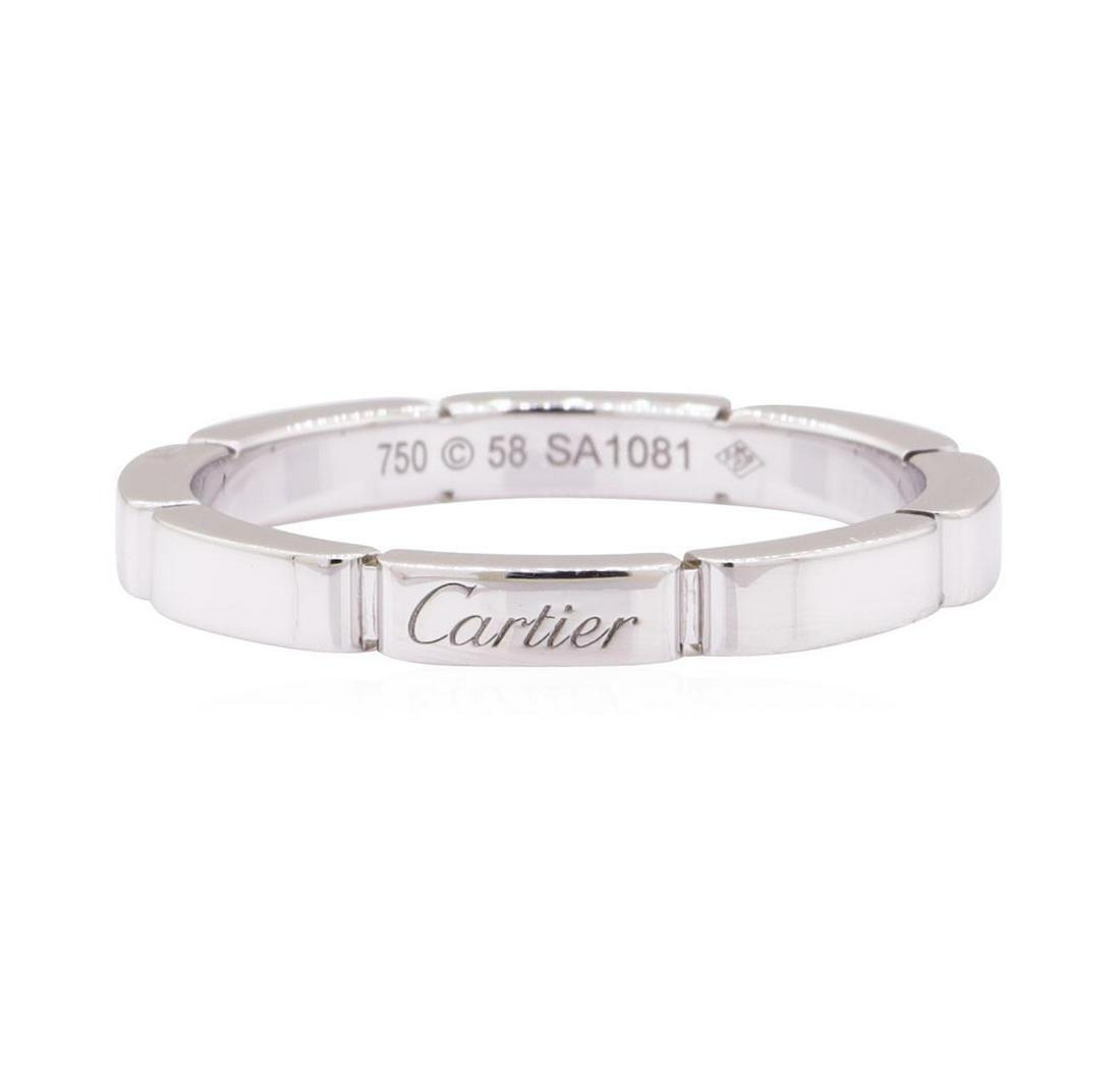 Cartier Mallion Panthere Wedding Band - 18KT White Gold