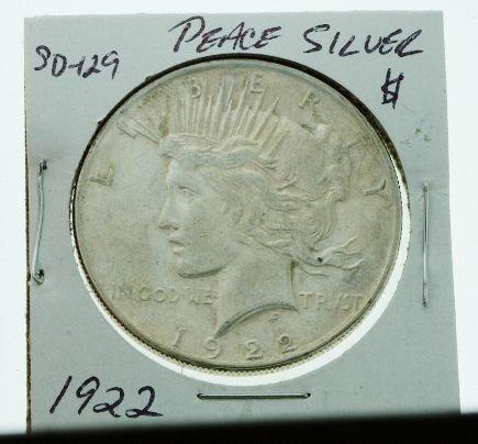 9: 1891 Morgan Silver Dollar SD1129