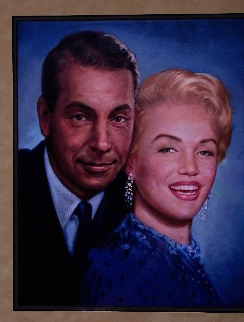 434: Joe DiMaggio & Marilyn Monroe Autographed Baseball - 4