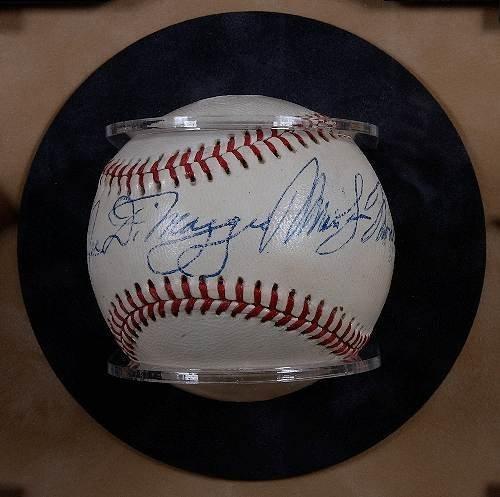 434: Joe DiMaggio & Marilyn Monroe Autographed Baseball - 7