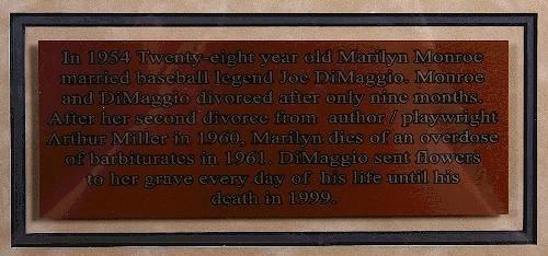 434: Joe DiMaggio & Marilyn Monroe Autographed Baseball - 8
