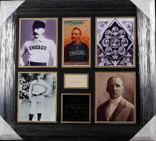 1: Cap Anson Autographed Collage