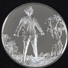 5: Sterling Silver Postmasters Collectible Coin #7