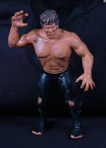 """17: Vintage 1980's Ricky The Dragon Steamboat 7"""" Wrestl"""