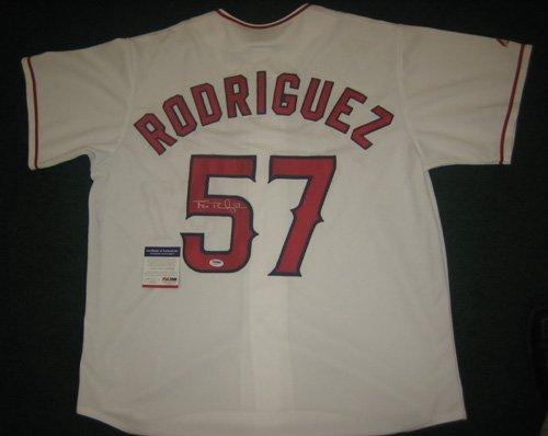 19: Francisco Rodriguez Autographed Angels Jersey PSA/D