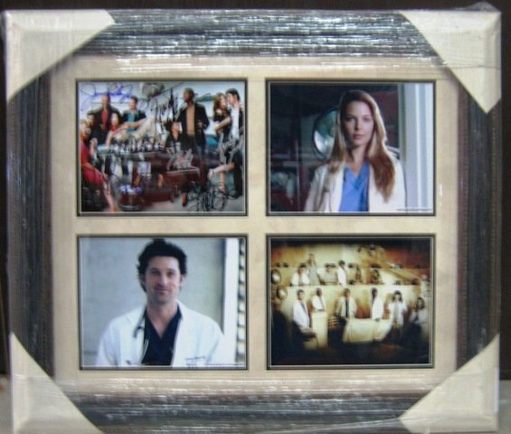 21: Grey's Anatomy Autographed Cast Photo Collage