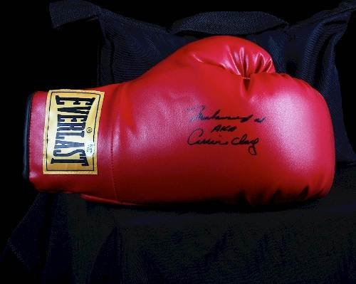 426: Muhammad Ali AKA Cassius Clay Autographed Boxing G
