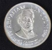 420: Abraham Lincoln 33.1gm. Sterling Silver Presidents
