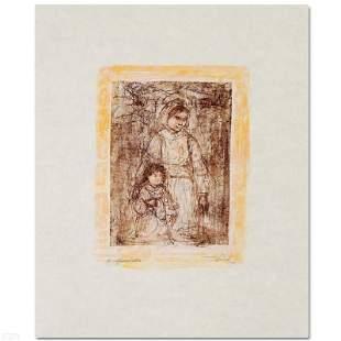 Michelle and Nana by Hibel (1917-2014)