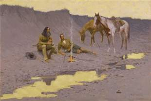 Frederic Sackrider Remington - A New Year on the