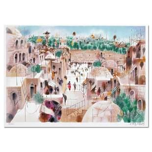 The Jewish Quarter by Katz (1926-2010)