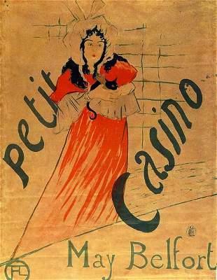 Toulouse-Lautrec - Le Divan Japonais