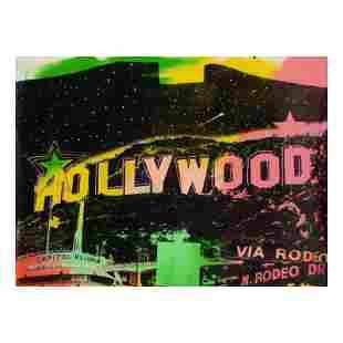 Hollywood by Steve Kaufman (1960-2010)