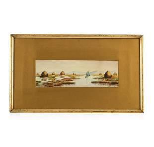 Henry Lowd Watercolor