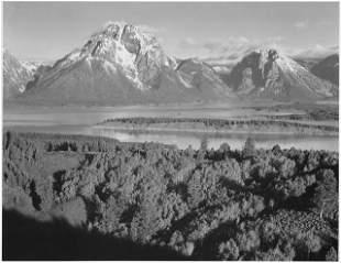 Adams - Mount Moran in Grand Teton Wyoming