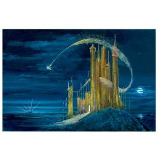 Gold Castle by Ellenshaw & Ellenshaw