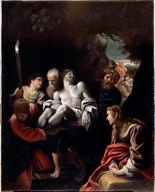 Sisto Badalocchio - Christ Carried to the Tomb