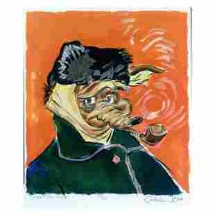 Vincent Van Coyote by Chuck Jones (1912-2002)