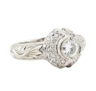 1.00 ctw Diamond Ring - Platinum