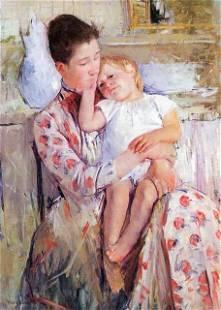 Mary Cassatt - Mother And Child #2