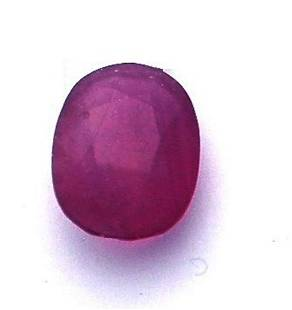 11.56 ctw Oval Ruby Parcel