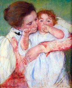 Mary Cassatt - Anne Klein, From The Mother Embraces