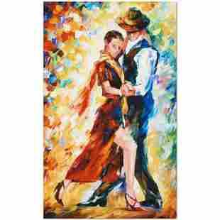 Romantic Tango by Afremov (1955-2019)