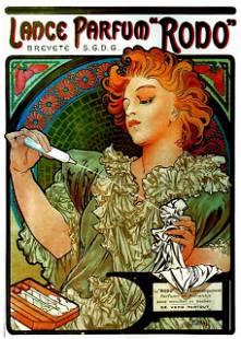 Alphonse Mucha - Lance Parfum