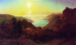Donner Lake #2 by Albert Bierstadt