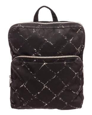 Chanel Black Backpack