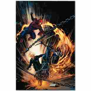 Amazing Spider-Man/Ghost Rider: Motorstorm #1 by Marvel