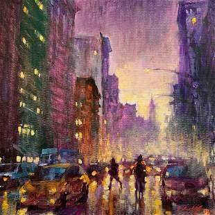 """David Hinchliffe """"Night Falls in the City"""""""