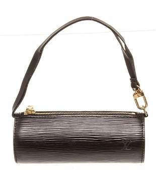 Louis Vuitton Black Epi Leather Mini Papillon Shoulder