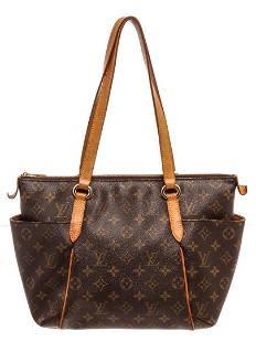 Louis Vuitton Brown Monogram Totally PM Tote Bag