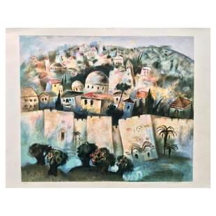 Sunrise in Jerusalem by Kohelet, Gregory