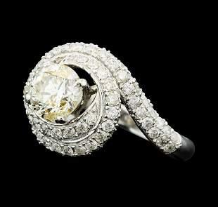 14KT White Gold 2.24 ctw Diamond Ring