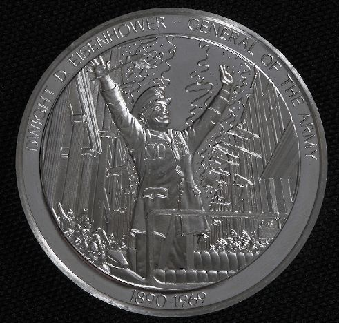 Dwight Eisenhower - Sterling Silver #38 History Co
