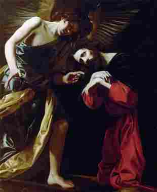 Battistello Caracciolo - Christ on the Mount of Olives