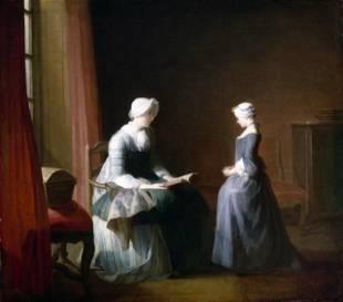 Jean Baptiste Chardin - The Good Education