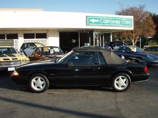 1266: 1991 Ford Mustang LX - 100106 - Vintage Car/Autom