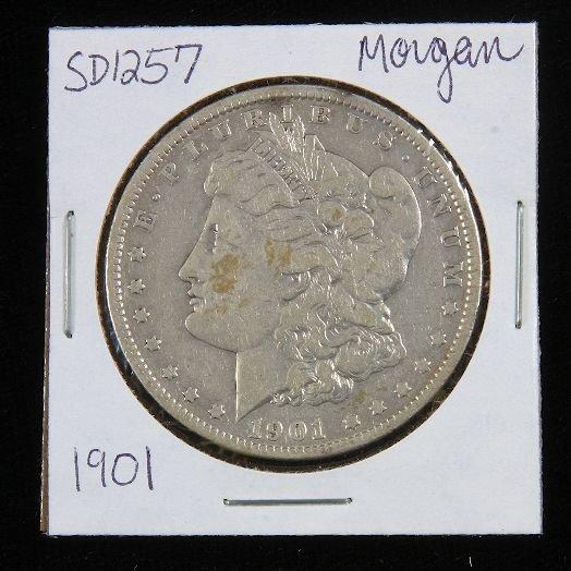 6: 1901 Morgan Silver Dollar SD1257