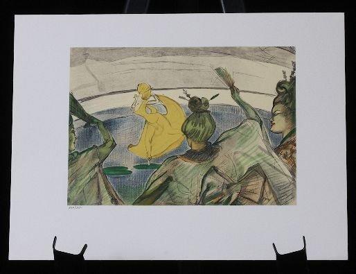 9: Toulouse-Lautrec - Ballets, fantaisie nautique -  Li