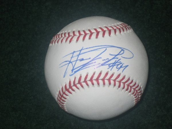 13: Howie Kendrick Autographed Baseball UDA
