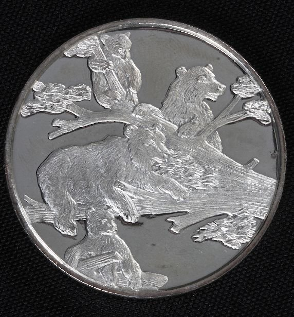 15: Mikhail Gorbachev Legacy Silver Medal #5 62.3 grams