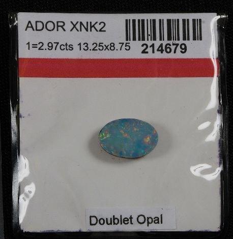 16: Doublet Opal (1) 2.97cts OP29
