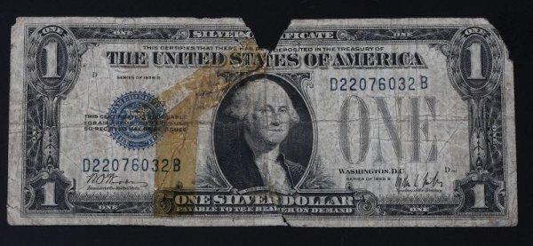 18: 1928 Silver Certificate $1.00 PM103