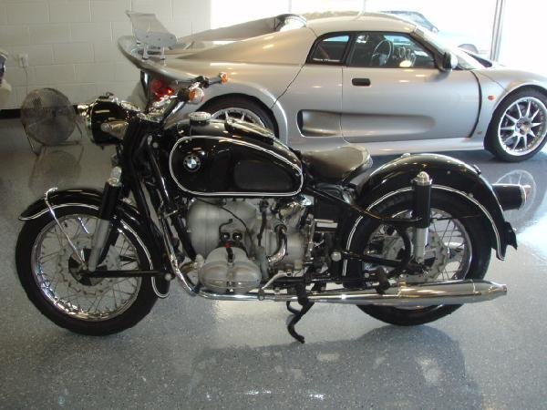 133: 1965 BMW R69S Vintage Motorcycle - 90810