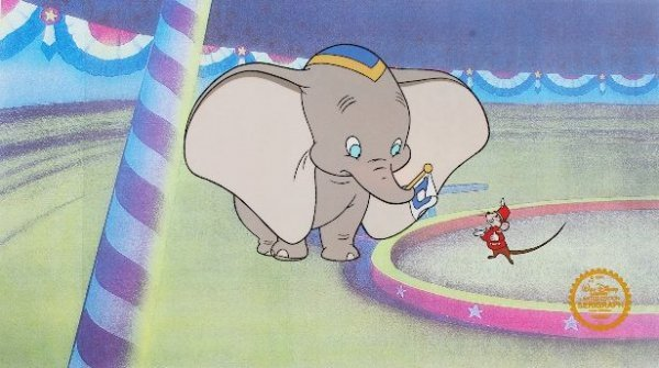 14A: Dumbo - Limited Edition Disney Serigraph Cel