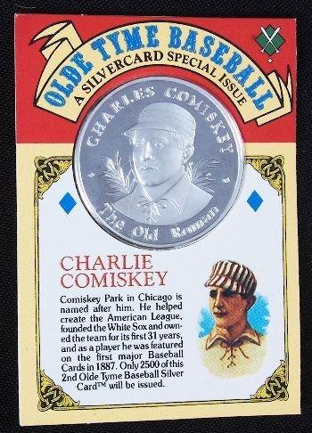 7: Charlie Comiskey .99 Silver Coin Silvercard #3